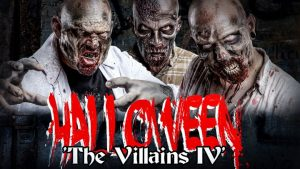 Griezelen voor Halloween bij The Villains IV! ticketveiling