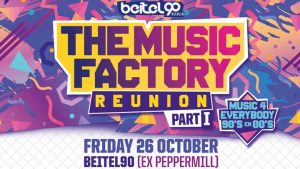 Kom samen naar The Music Factory - Reunion | Part 1! ticketveiling