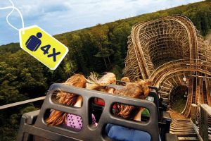 4 tickets voor Movie Park Germany VakantieVeilingen.be