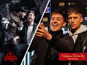 Combiticket Madame Tussauds + The Amsterdam Dungeon Merlin Entertainment