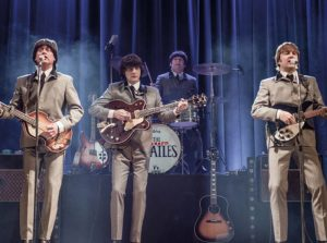Optreden van The Cavern Beatles in het World Forum Theater The Cavern Beatles