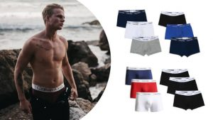 3-pack low rise trunk boxers van Calvin Klein! ticketveiling