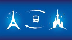 Disneyland® Paris Express tickets and shuttle transport 1 day 2 parks
