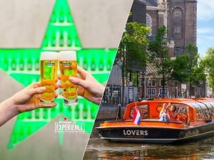 Heineken Experience and 1-Hour canal cruise in Amsterdam