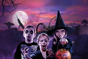 Tickets voor Halloween in themapark Bellewaerde (2 p.) VakantieVeilingen.be
